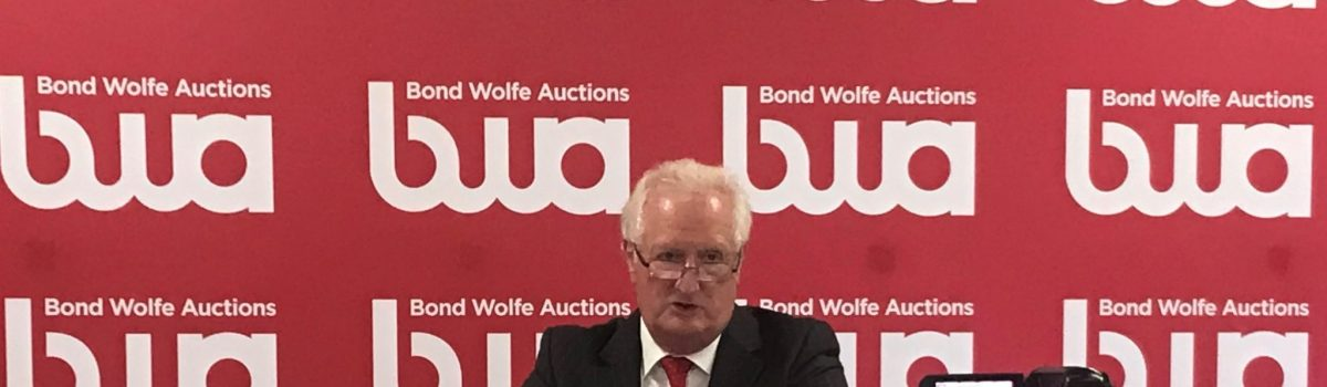 New sales record of £21.2 million+ set by Bond Wolfe Auctions at October auction
