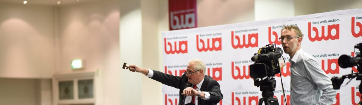 Bond Wolfe Auctions debuts with £16.7 million and 90% success rate