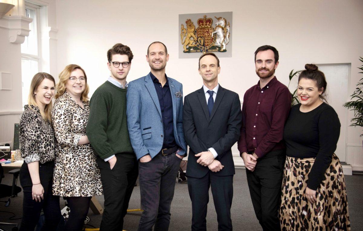 Media company creates seven jobs and moves into former Shropshire court, helped by Bulleys Bradbury