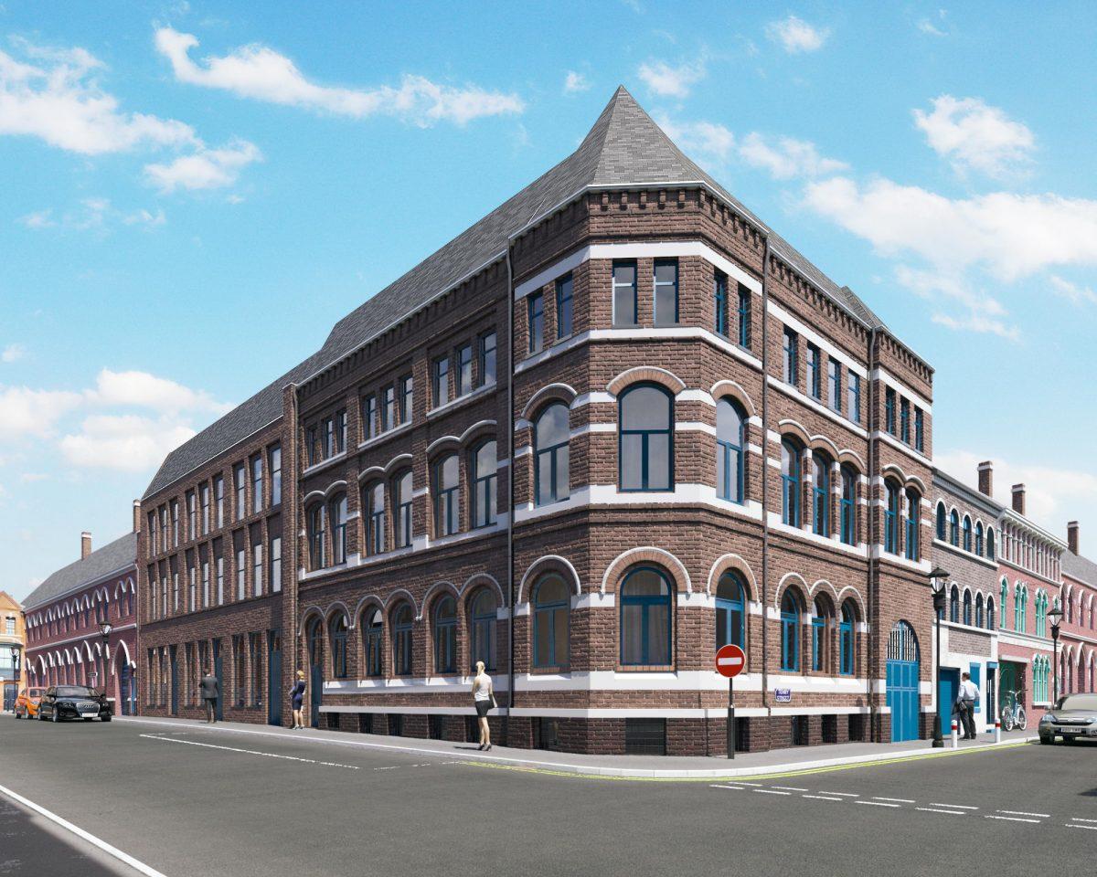 First unit sold in Grade II-listed development in Birmingham's Jewellery Quarter