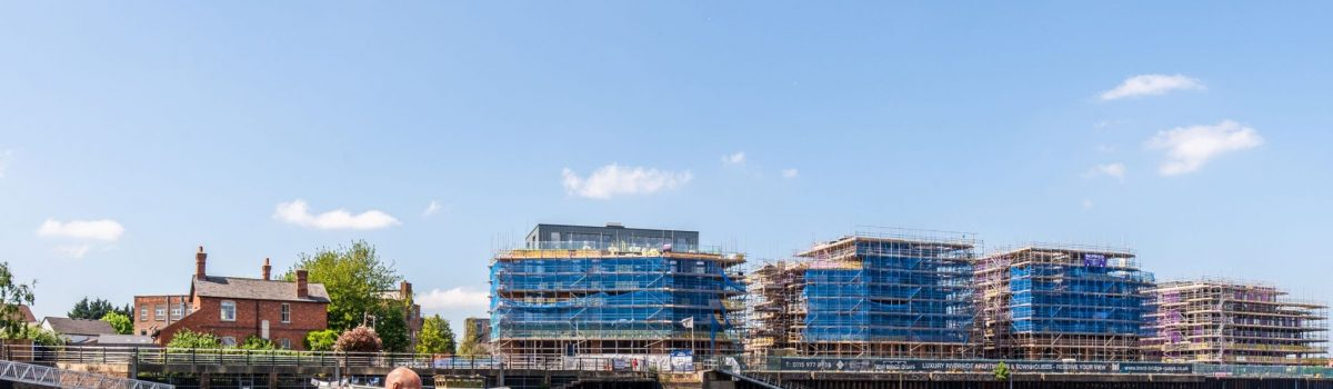 Nottingham's first time buyers can move in this summer at Trent Bridge Quays