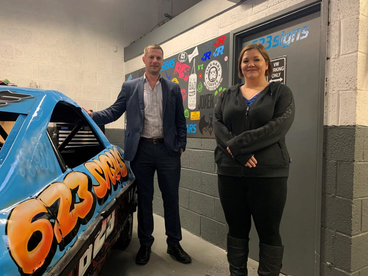 Signs firm 623 heads for growth after move to new premises secured through John Truslove