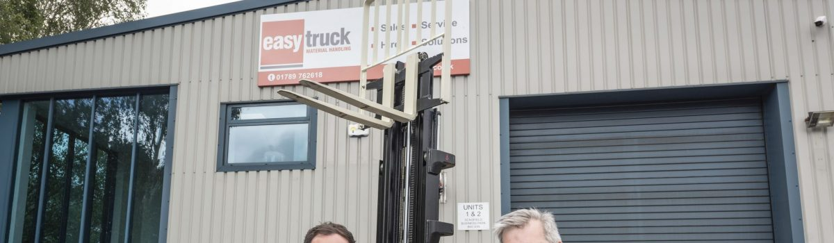 Forklift couple targeting fresh growth, helped by John Truslove