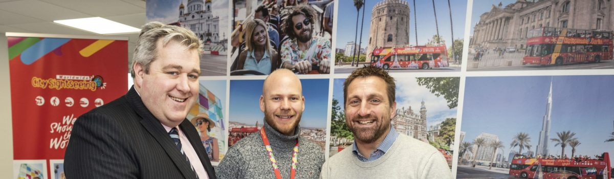 City Sightseeing Worldwide chooses Redditch for its strategic location