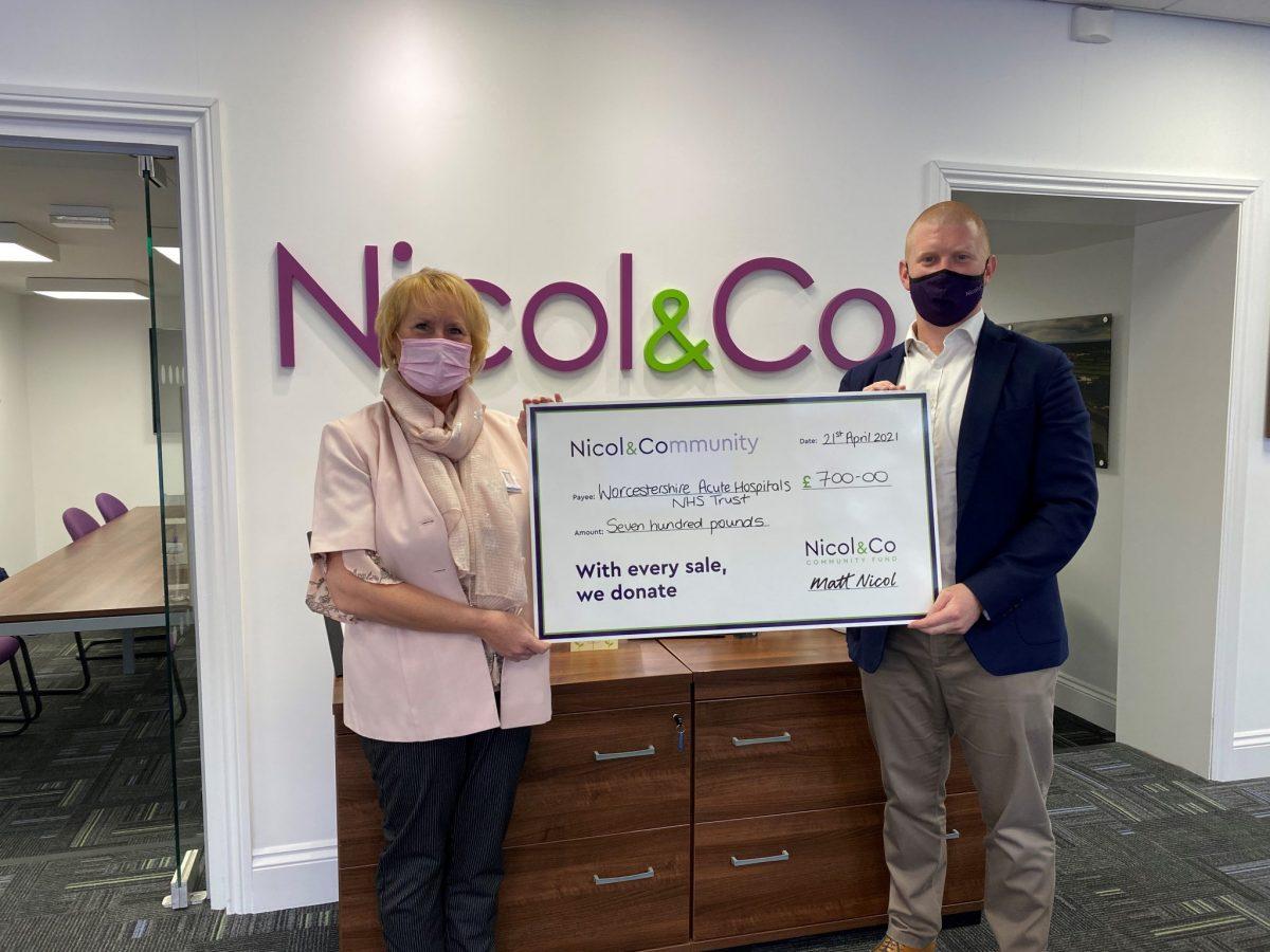 Nicol & Co wins Fundraising Champion Award at national estate agents' charity ball