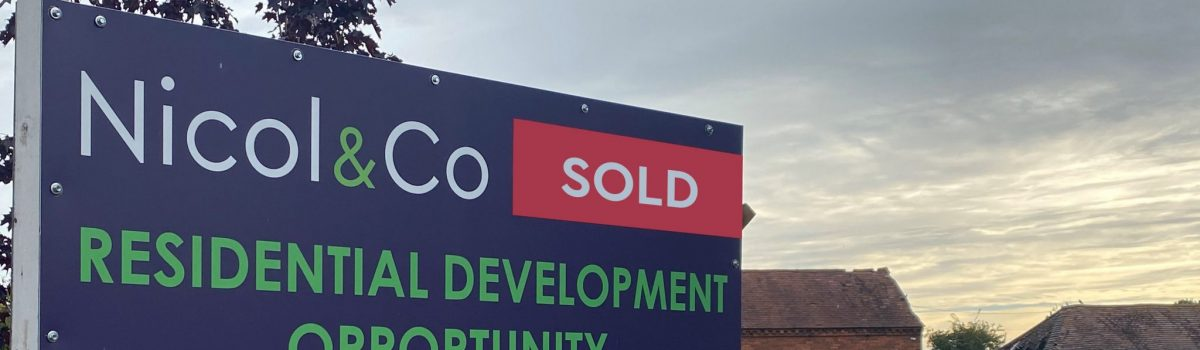 Seven new homes planned for Worcestershire village after farmland sale